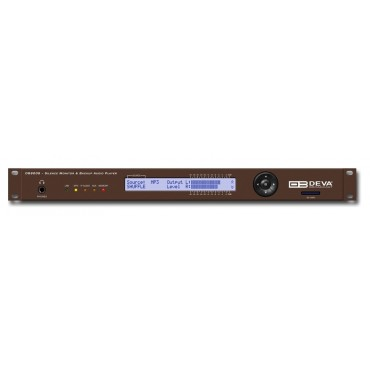 DB8008 - Digital Silence Monitor with MP3 and IP Audio Backup Players
