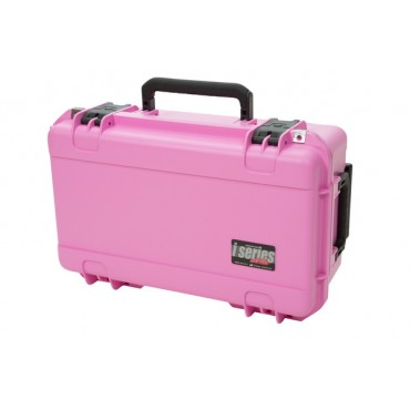 iSeries 2011-7 Two DSLR w/ Lenses Case (pink)